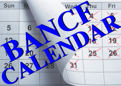 Click here for the full BANCF Calendar of Events and to Register Online