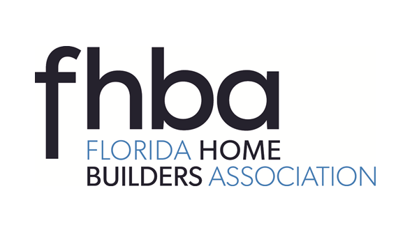 Florida Home Builders Association (FHBA) logo with a link to their website