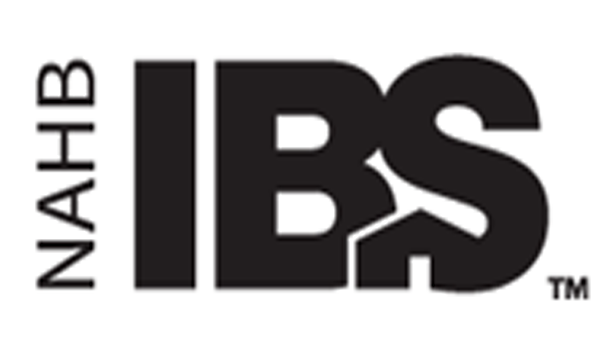Logo for the NAHB International Builder Show (IBS) with a link to their website